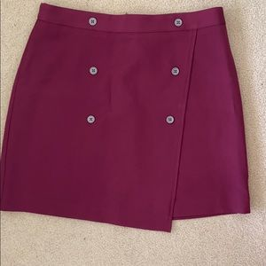 Banana republic brand new burgundy skirt